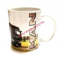 Чашка, с логотипом, MAN, ман