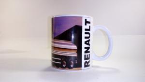 Чашка, с логотипом, Renault, рено