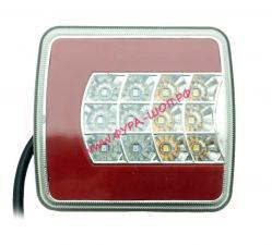 Фонарь, задн, прицеп, квадрат, 105, 100, универсальный, светодиодный, НЕОН, 10, 30,V