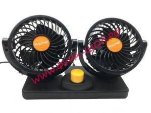 Вентилятор, двойной, 360, градусов, 11, см, 24В, Осциллирующий, 2-е, скорости