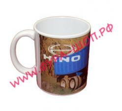 Чашка, логотипом, HINO, хино