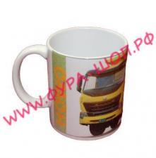 Чашка, логотипом, HOWO, хово