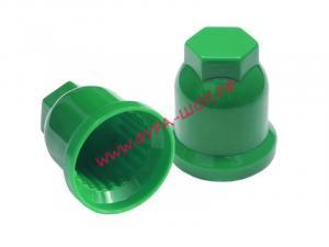 купить, удлененный, Колпачок, пластиковый, 32 зеленый, ВЫСОКИЙ, на гайку