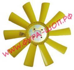 Вентилятор, ЯМЗ, 236, НЕ, БЕ, 7601, пластик, d=65мм