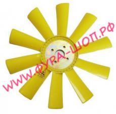 Вентилятор, ЯМЗ, 238, М2, М, пластик, d=55