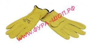 купить, CN5584, Перчатки, из козьей, кожи, (желтые), мягкие, VENNER, LISP-105/Y