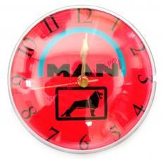 купить, Часы, с логотипом, на батарейке, АА, крепление, магнит, MAN
