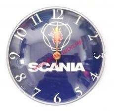 купить, Часы, с логотипом, на батарейке, АА, крепление, магнит, SCANIA