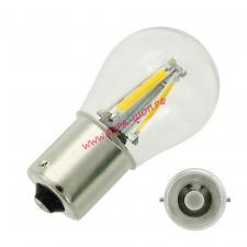 Автомобильная, светодиодная, лампа, с большим, цоколем, P21, реверсивный, свет, пятикратный, сигнал, 1156-cob-m, белый, 12/24v, QTY