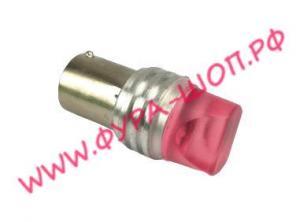 Лампа, с большим, цоколем, P21 реверсивный, свет, красный, 1156-3032, 12-24V
